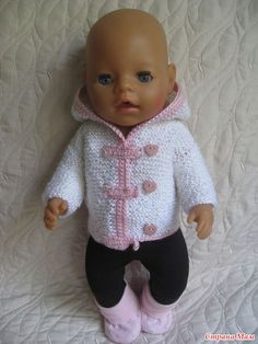 Crochet Doll Clothes, Knitted Dolls, Doll Clothes Patterns, Doll Patterns, Clothing Patterns, Baby Born Clothes, Girl Doll Clothes, Girl Dolls, Baby Dolls