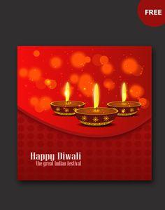 Diwali card templates diwali card templates and vector free download free diwali design vector m4hsunfo