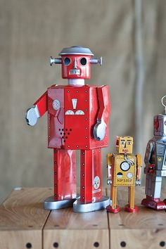 Giant Atomic Robot - Red by The Homeport Collections on @HauteLook