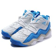 Adidas TOP TEN 2000 Kobe Bryant TianZu Complex Moment White/Blue... via Polyvore