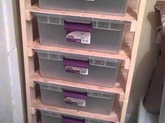DIY reptile rack system