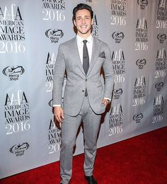 Bringing out the grey fashion attire  after the 36 hour call shift, but still smiling  #americanimageawards #aafa #fashion #smile
