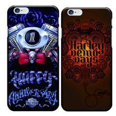 Black Street Fashion Harley Demo Days Eagle Demon Goat Skull Painted Black Plastic PC Hard Case for iPhone 5S SE 6/6S 6/6S Plus