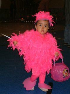 Flamingo Halloween costume!