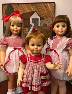 Ideal Toys, Doll Display, Beautiful Dolls, Flower Girl Dresses, Dreams, Summer Dresses, Type, Wedding Dresses, Baby