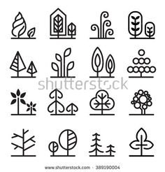 Tree icon - buy this vector on Shutterstock & find other images.
