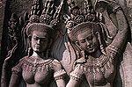 Angkor Vat. Apsaras