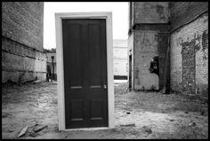 ben folds 'door to nowhere.' (savannah, ga)