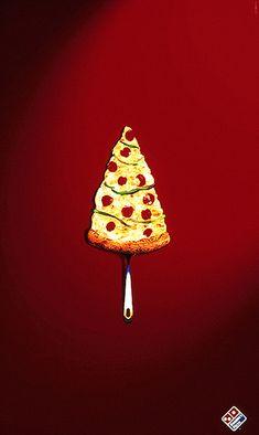 Domino's Pizza: pizza-árbol