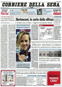 Il Corriere della Sera (01-08-13) Italian | True PDF | 44 pages | 13,93 Mb