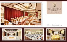 Perfect accoutre and lavish setting empowers your #MondayMeeting at the Golden Palms Hotel & Spa.