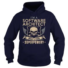 SOFTWARE ARCHITECT WHAT'S YOUR SUPERPOWER T-Shirts, Hoodies. SHOPPING NOW ==► https://www.sunfrog.com/LifeStyle/SOFTWARE-ARCHITECT-super-Navy-Blue-Hoodie.html?id=41382