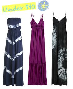 In search of the perfect maxi dress...these are okay.  Need wider straps to hide bra straps...this chic doesn't free-boob.