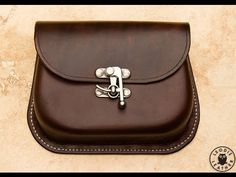 Making a Moulded Leather Possibles Pouch - YouTube