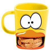 The Brew Buddies Duck Mug will allow you to enjoy the perfect cuppa, complete with biscuits for dunking. Boasting a quirky duck design, the mug features a slot at the bottom for you to store a couple of your favourite biscuits. It would make the perfect gift for anyone who enjoys a good brew.  Find us on facebook at https://www.facebook.com/JNLondon