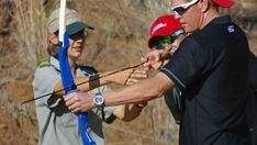 Archery in Sun City | Fun Thing To Do | Activities Near Me - Dirty Boots Open Water Swimming, Swimming Pools, Activities Near Me, Archery Lessons, Stuff To Do, Things To Do, Mountain Bike Races, Sun City, Rock Concert