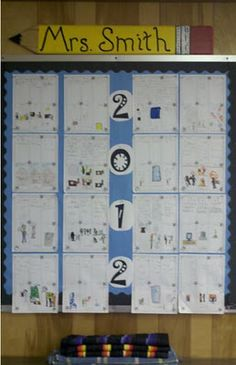 Fern Smith's Classroom Ideas! Using Clear Pushpins to Make Changing Bulletin Boards Easy Work!