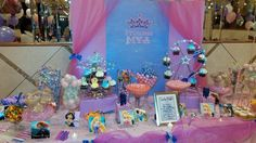 Princess theme sweet station