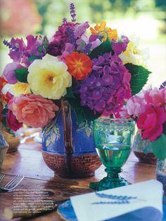 Summer Flowers.. Beautiful colors!