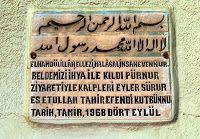 Tao Sosyo Denemeler: Tahir Efendi Türbesi / MANİSA / KULA – Kızılkaya M...