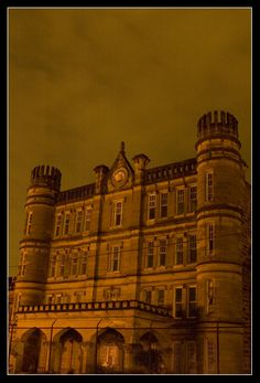 West Virginia State Prison, now abandoned. That is one spooky picture!