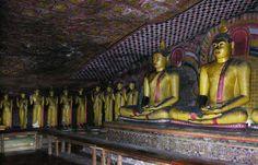 Buddha Cave, #Dambulla, Sri Lanka