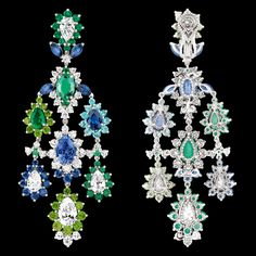 """Cher Dior - """"Exquise Emeraude"""" earrings. Discover more on www.dior.com"""