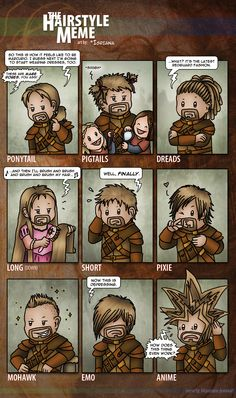 The Hairstyle Meme: Bron by Isriana.deviantar... on @deviantART