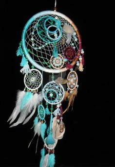 Want to discover art related to dream_catcher? Check out inspiring examples of dream_catcher artwork on DeviantArt, and get inspired by our community of talented artists. Los Dreamcatchers, Beautiful Dream Catchers, Diy And Crafts, Arts And Crafts, Dream Catcher Craft, Receptor, Diy Accessoires, Deco Boheme, Sun Catcher