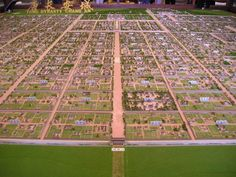 恢宏的长安城,显示着大唐帝国的强盛 Gran ciudad de Chang'an, mostrando un fuerte imperio Tang