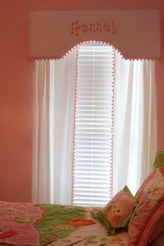 images of cornice boards | monogrammed cornice board & curtains. | :: CORNICES ::