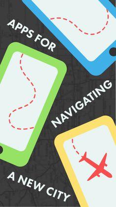 City navigation apps