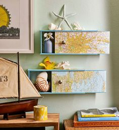 How to make wall-mounted boxes: These handy boxes are light enough to wall mount, making them great cabinets for displays. Slide open their worldly doors to reveal hidden s...