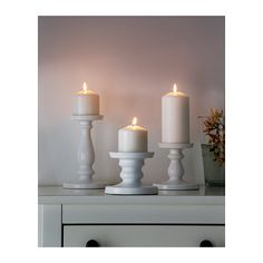 For powder room and bedside table. From $8. ERSÄTTA Block candle holder IKEA