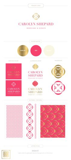 Emily McCarthy Branding | Carolyn Shepard Branding Board