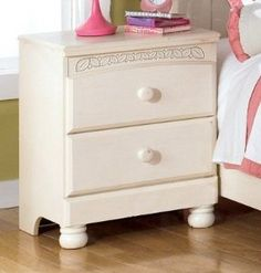 Kids 2-Drawer Nightstand Cottage Retreat by Ashley Furniture at Kensington Furniture