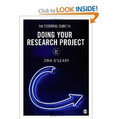The Essential Guide to Doing Your Research Project: Zina O'Leary: 9781446258972: Amazon.com: Books