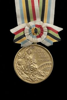 Gold Medal of Billy Mills (Oglala Lakota) – 10,000 meters, 1964 Olympic Games, Tokyo