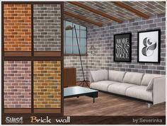 Sims by Severinka: Sloping ceiling • Sims 4 Downloads