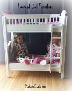 This 18 inch doll furniture is perfect for every girl.