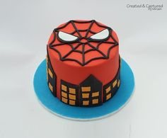Spiderman Cake, Molly this is for M