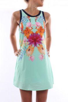 Alexia Dress Mint