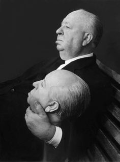 Alfred Hitchcock - Alfred Hitchcock didn't need computers to make a great movie. Now his movies are considered icons of the industry. Alfred Hitchcock, Classic Hollywood, Old Hollywood, I Movie, Movie Stars, Film Director, Rare Photos, Famous Faces, Filmmaking