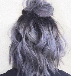 Smoky Purple Hair Color