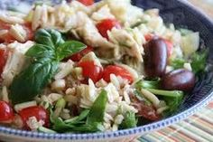 Orzo with Cherry Tomatoes and Artichokes Recipe via @SparkPeople