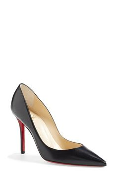 Christian Louboutin 'Apostrophy' Pointy Toe Pump available at #Nordstrom