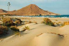 Ensenada de los Genoveses, Níjar, #Almería. Fuente imagen: Alberto Paredes