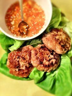 thai chicken cakes