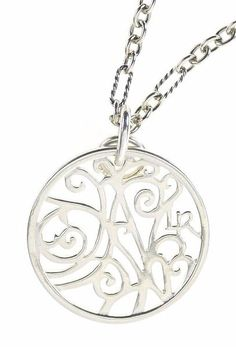 """A simple piece that adds a bit of class to any look. Beautiful sterling silver with an original design in filigree that suits many tastes. From the Portale Collection, the Portale design is used in a small sterling silver circular filigree pendant. Chains sold separately. 1"""" dia. x 1 1/4"""" L. Lisa Robin's signature jewelry collection, the Portale (por-TAHL-lay) pieces take their name from the Italian word for doorway. This design was inspired by a wrought-iron lintel above a doorway on a…"""
