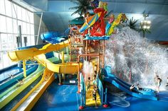 Fallsview Indoor Waterpark July Contest from Toronto4Kids - Enter our July Fallsview Indoor Waterpark Contest for a chance to win a Fallsview Waterpark Getaway.
